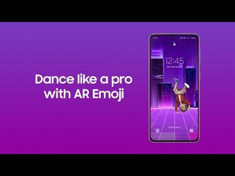 Galaxy S21: Dance like a pro with your AR Emoji   Samsung