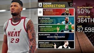 NBA 2K16 MyCAREER S2 - Live Practice   Connections & Endorsements!
