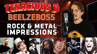 Tenacious D - Beelzeboss (ROCK & METAL IMPRESSIONS COVER)