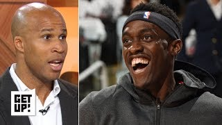 Pascal Siakam will 'eat all night' if he isn't fouled more - Richard Jefferson | Get Up!