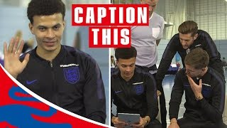 Give Us the Wave Dele!   Dele & Stones (ft. Hart, Lallana & Walker too!)   Caption This