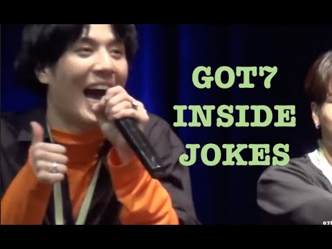 GOT7 INSIDE JOKES IN 2018