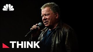 William Shatner Talks Star Trek, A Cancer Scare, And Our Current Political Moment | Think | NBC News