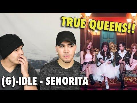[MV] (G)I-DLE((여자)아이들) _ SENORITA REACTION (COUPLE REACTS)