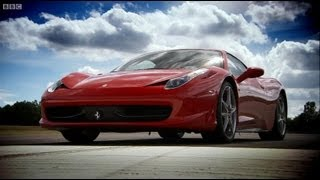 Ferrari 458 vs Ferrari 430   Top Gear   BBC