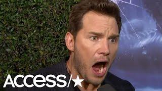 Chris Pratt Demonstrates Just How Terrified He Was On New 'Jurassic World' Ride
