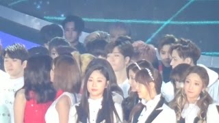 Suho and  Soyeon moments [T-EXO]