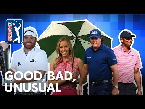 Holmes? ace and win, rain resets Phil?s hole-out & Tiger?s torrid start