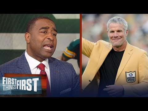 Cris Carter on Brett Favre's battle with alcohol and pain pills | NFL | FIRST THINGS FIRST