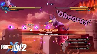 This COUNTERS Every Limit Burst! Playing as Fat Beerus In Dragon Ball Xenoverse 2!