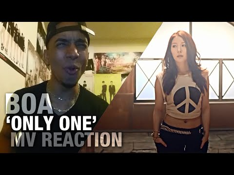 BOA - 'ONLY ONE' _REACTION_VIDEO [NON-FAN REACTION]