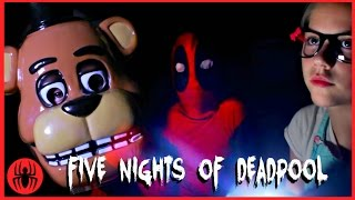 A Five Nights at Freddy's Scary Halloween Story! Part 1 WARNING: JUMP SCARES! SuperHero Kids