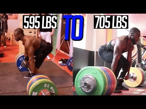 EPIC DEADLIFT TRANSFORMATION | 595lbs to 705lbs | Natural Bodybuilder Gabriel Sey