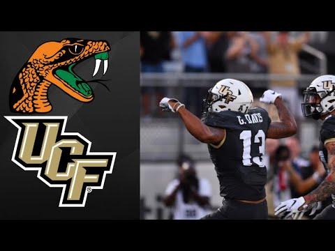 Florida A&M vs UCF NCAAF Week 1 Highlights | College Football Highlights