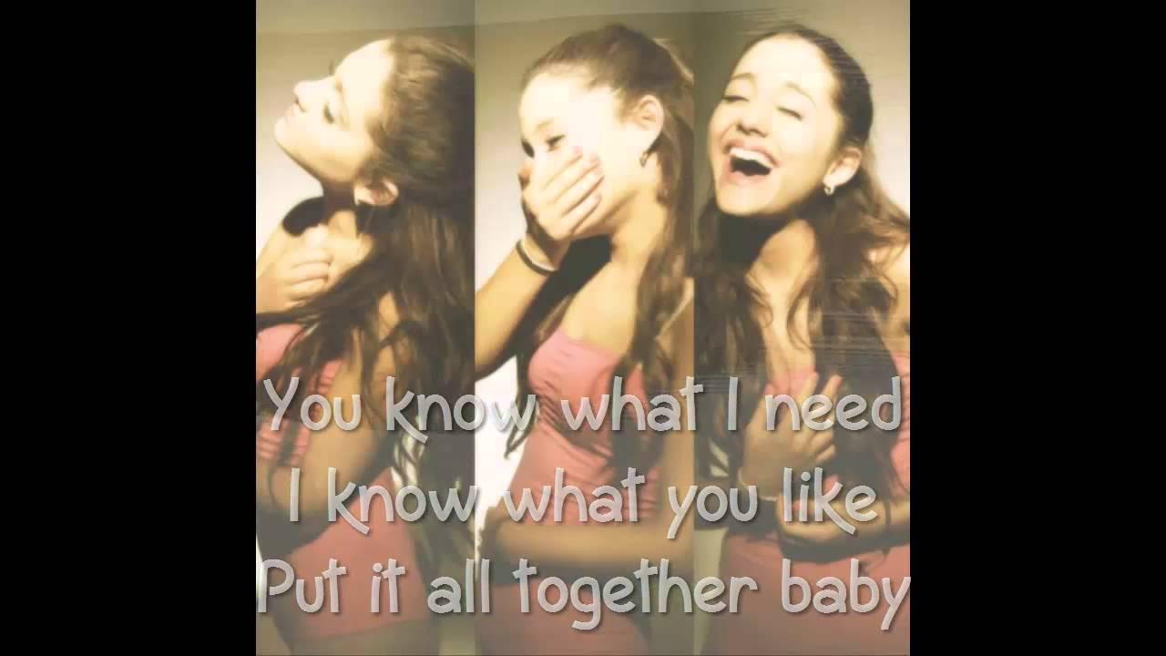 Right There Ariana Grande Lyrics | www.imgkid.com - The ...