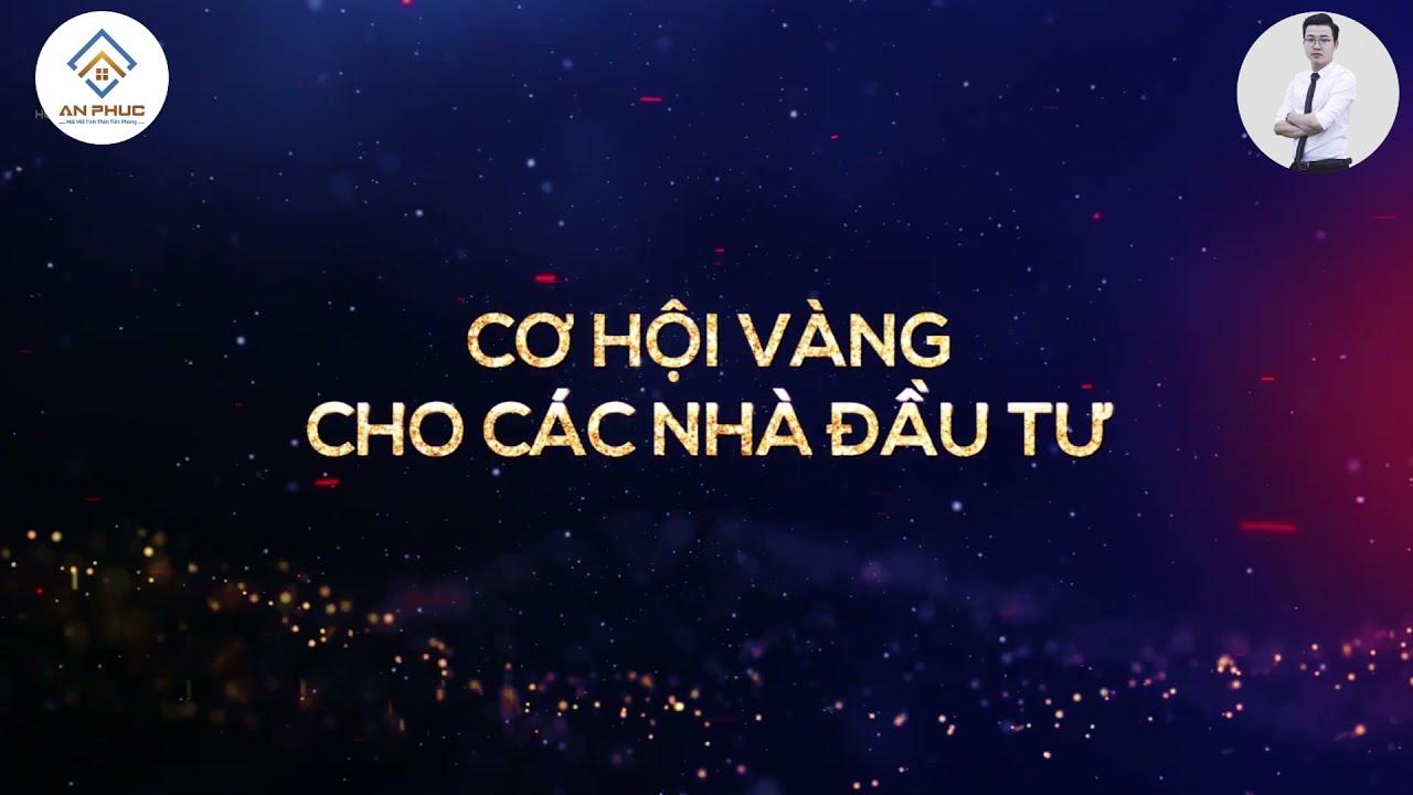 Bán nhà liền kề, shophouse sát công viên, bệnh viện dự án KĐT Sao Mai, Triệu Sơn, Thanh Hóa. 9tr/m2 video