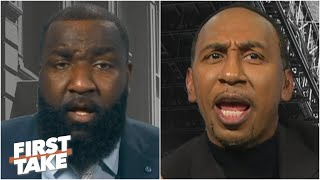 'How dare you!' Stephen A. is in disbelief over Perk's Knicks vs. Hawks prediction | First Take