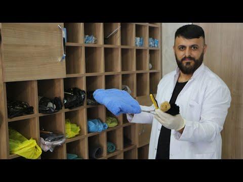 Tokat'ta, kuaförde 'kişiye özel ustura ve havlu' uygulaması
