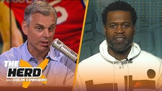 Stephen Jackson: Ben Simmons' game is 'frustrating', talks Kyrie's value to Celtics | NBA | THE HERD