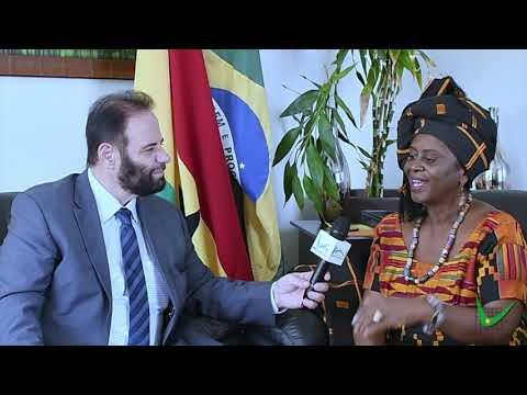 Entrevista com a Embaixadora de Gana Abena Busia | Jornalista Paulo Fayad thumbnail
