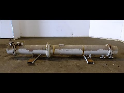 Used- Perry Products Shell & Tube Heat Exchanger - stock # 48199026