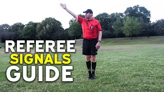 Soccer Referee Signals Guide