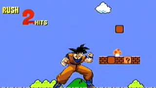 Goku chơi mario (bá đạo)