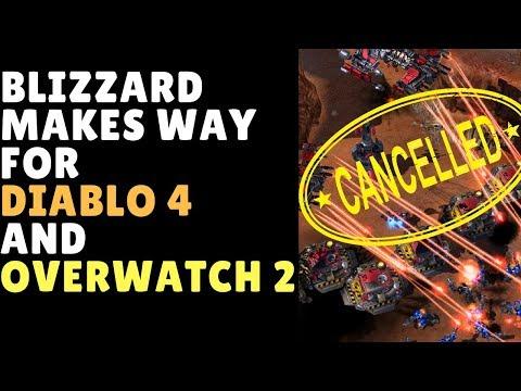 Blizzard Cancels Secret Project To Help Diablo 4 & Overwatch 2