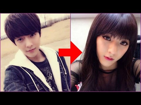 15 Male Kpop Idols Dressed Like Girls