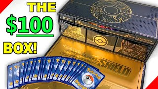 I Dropped $100 On The FANCY Pokemon Ultra Premium Collection Box Of Cards! *Error Inside*