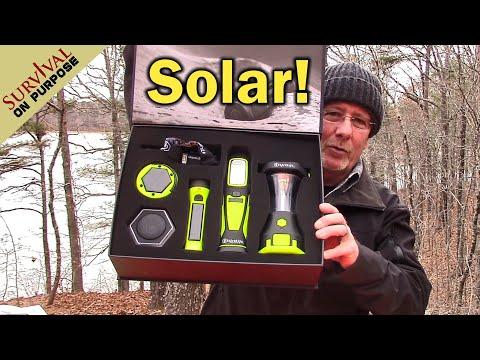 Off Grid Lighting - HybridLight Solar Pro Kit Unboxing