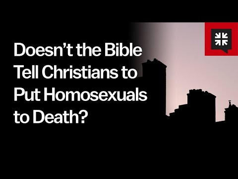 Doesn't the Bible Tell Christians to Put Homosexuals to Death? // Ask Pastor John