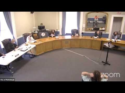 Plattsburgh Common Council Meeting  5-7-21