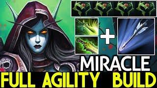 Miracle- [Drow Ranger] Full Agility Build Insane Speed Arrow 7.21 Dota 2 - YouTube