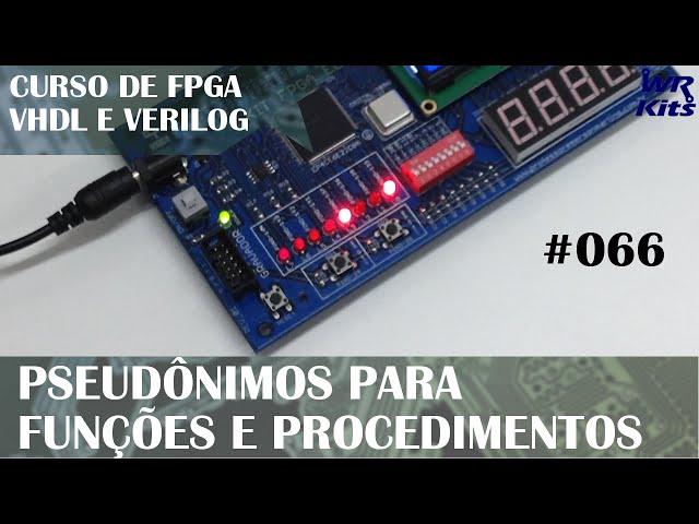 PSEUDÔNIMOS EM FUNÇÕES E PROCEDIMENTOS | Curso de FPGA #066