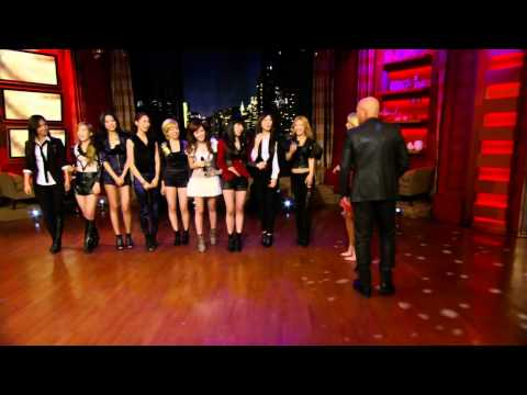 120201 LIVE! with Kelly | Girls' Generation - Interview + The Boys (US)
