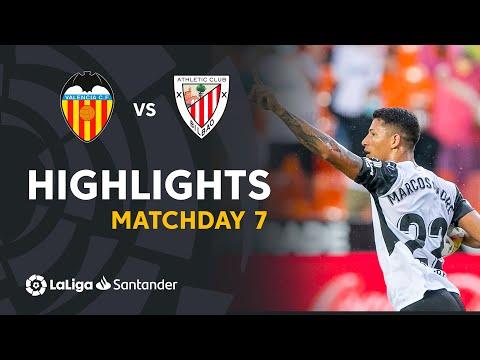 ⚽ HIGHLIGHTS I Valencia CF 1-1 Athletic Club I LaLiga Matchday 7