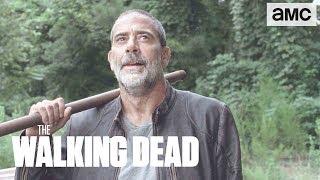 (SPOILERS) 'Negan's Escape' Inside Mid-Season Premiere BTS | The Walking Dead