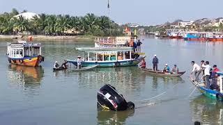 Công An Hội An thông tin vụ chồng lái ô tô chở vợ và 2 con lao thẳng xuống Sông Hoài