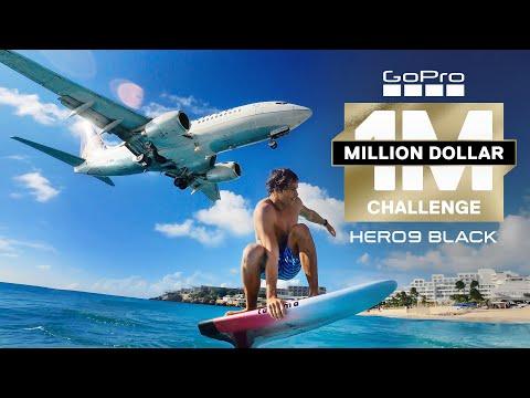 GoPro Awards: Million Dollar Challenge Highlight in 4K   HERO9 Black