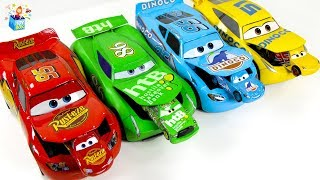 Learning Color Disney Pixar Cars Lightning McQueen Nursery Rhyme Play for kids car toys