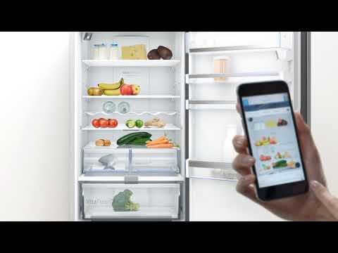 Matoppbevaring med Bosch kjøleskap og Home Connect
