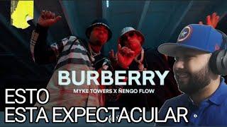REACCION 🇲🇽 Myke Towers & Ñengo Flow - BURBERRY (Video Oficial) EL JUNTE DEL AÑO