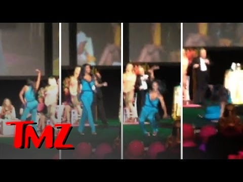 'Housewives' Kenya Moore's Runway Fail - TMZ  - xhcKvQ9Zp-A -