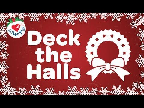 Deck the Halls with Lyrics 2018 HD | Christmas Songs and Carols