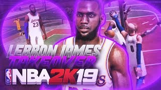 CRAZY SLASHER LEBRON JAMES TAKES OVER THE STAGE! NBA 2K19