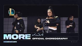 K/DA - MORE Dance -  Official Choreography Video | League of Legends