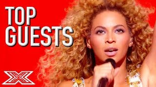 TOP GUEST Performances on X Factor   Featuring Beyonce, One Direction and MORE!   X Factor Global