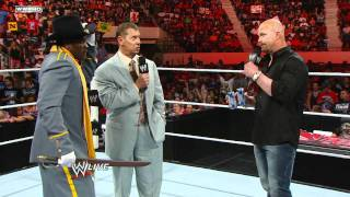 Raw: R-Truth tells Mr. McMahon and