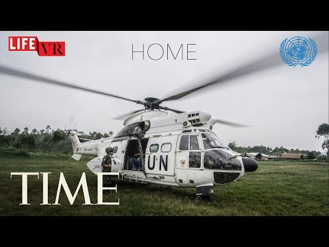 HOME: A United Nations VR Film On Humanitarian Crises   360 Video   TIME